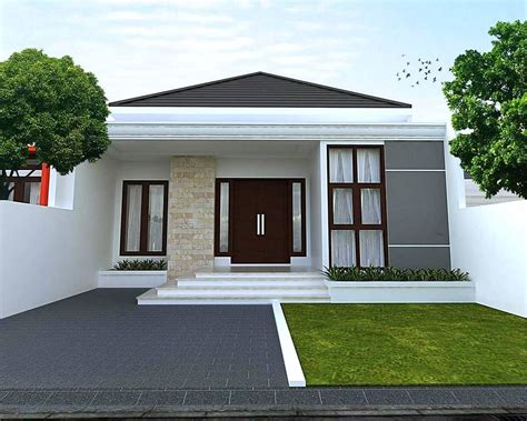 desain rumah minimalis tampak depan renovasi rumahnet