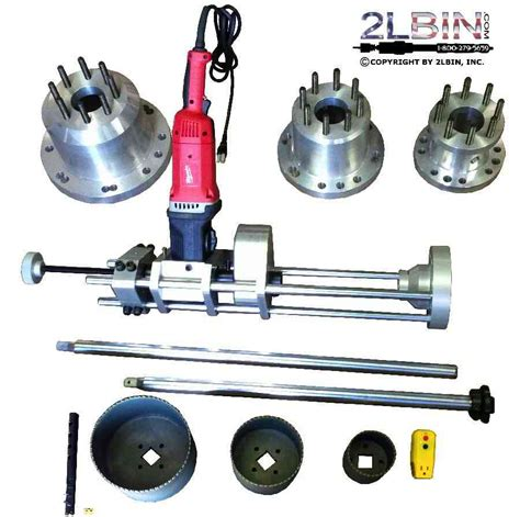 electric drive hot tapping machine