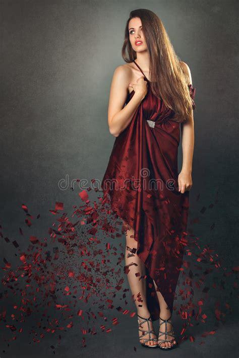 fashion model  fine art portrait stock image image