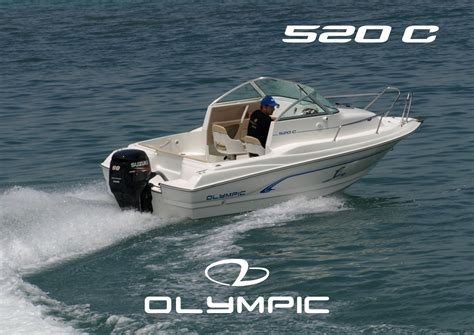 Olympic Boat by Olympic Boats 520 C