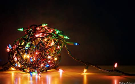christmas light wallpapers wallpaper cave