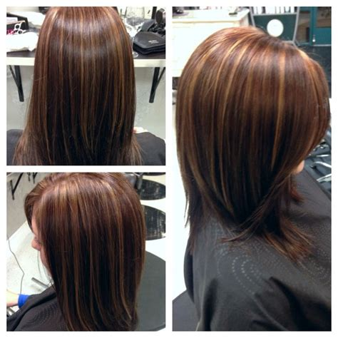 Rich Brown Hair With Caramel Highlights by Chocolate Brown With Caramel Highlights Hair By Me
