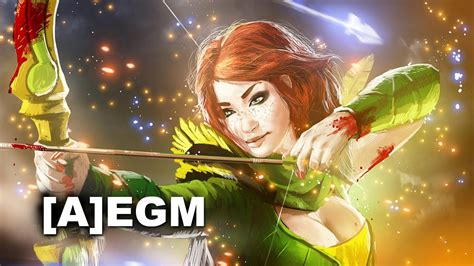 alliance egm windrunner gameplay dota 2 youtube