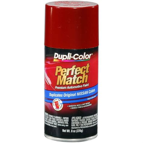 duplicolor bns0570 for nissan code ah3 cherry red 8 oz