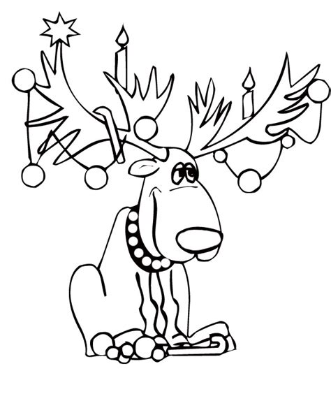 dessin coloriage cerf ohbqinfo