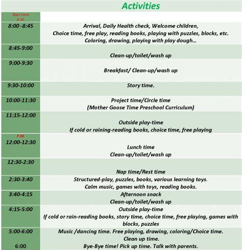 17 best ideas about preschool schedule on home 131   922efb911a03768038b48ec1221a5097