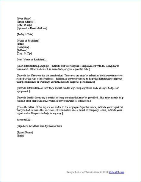 the termination letter template from veo rtex42 ideas el hogar hogar