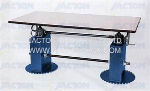 Hand Crank Acme Screw Drive Table Hand Crank Machine Lifts
