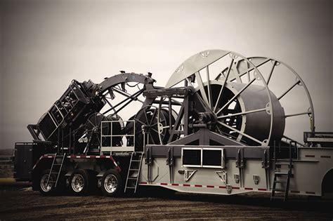 coiled tubing reels trailers stewart stevenson