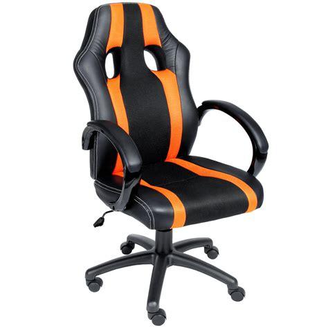 siege sport chaise de bureau sport fauteuil siege baquet grise