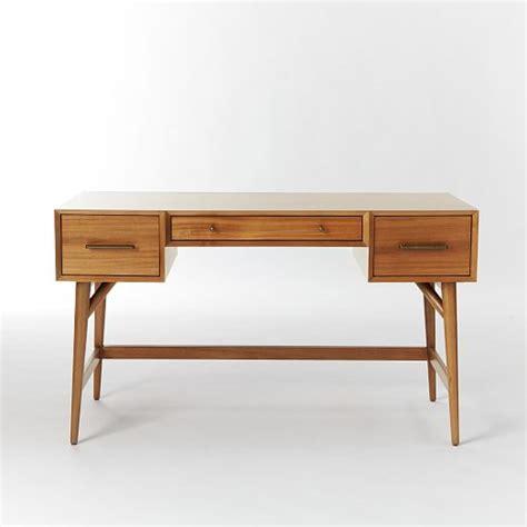 mid century office desk mid century desk acorn west elm