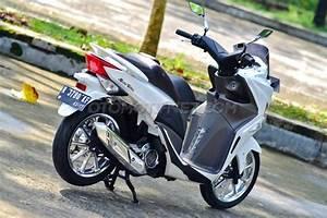 Ketika Honda Spacy Dimodifikasi Ala Nmax  Mau