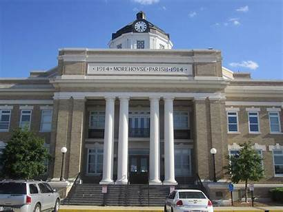 Courthouse Parish Bastrop Morehouse Louisiana 2803 Downtown