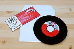 diy printable rockabilly record invitation With diy record wedding invitations