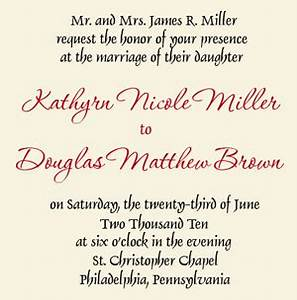 wedding invitation wording groom39s fff hfft bloguezcom With wedding invitation wording hosted by bride s parents