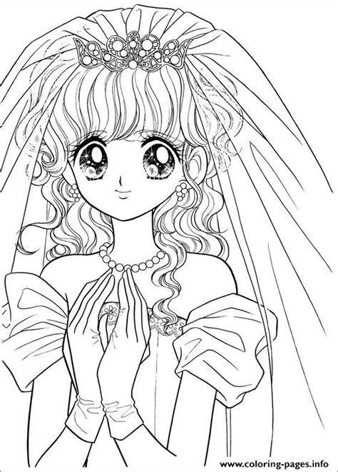 glitter force happy paradise wedding coloring pages printable