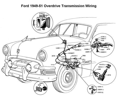 1950 Shoebox Ford Headlight Switch Wiring Diagram wiring diagram for 1949 51 ford od wiring ford