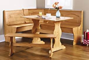 Corner Bench Kitchen Table Set by Kitchen Nook Corner Dining Breakfast Set Table Bench Chair
