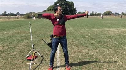 Through Follow Archery Drill Balance Drills Recurve