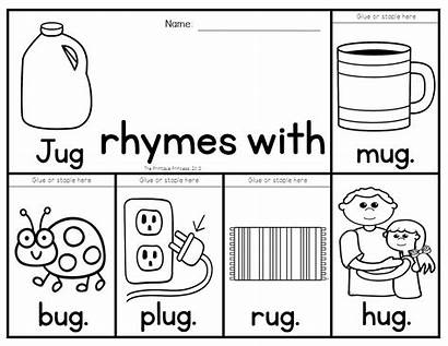 Rhyming Words Flip Books Teach Families Activities