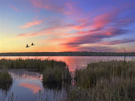lake wingra sunset sunset      lake wingra