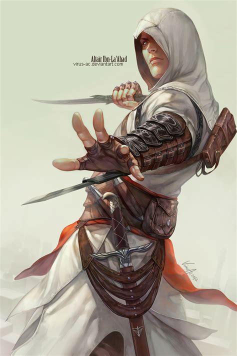 Altair Ibn La Ahad Fanart Zerochan Anime Image Board