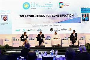 Experts discuss solar industry's role in construction