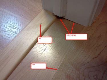 Laminate T Molding Nailed Down  Ee  Flooring Ee   Diy Chatroom