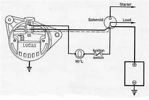 Lucas Alternator Wiring - Tech Talk - Wscc