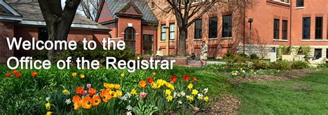 Office Of The Registrar by Welcome To The Office Of The Registrar The Office Of The