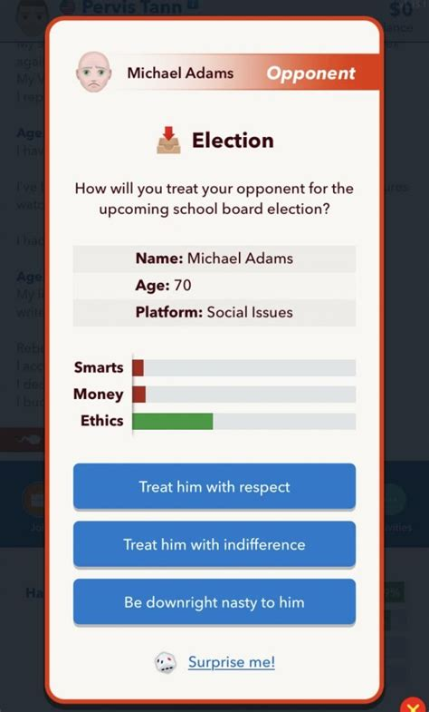 president run bitlife become guide elected minister politics prime office game board