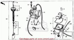 Honda Cr125r 1985  F  Usa Carburetor  U0026 39 85- U0026 39 89