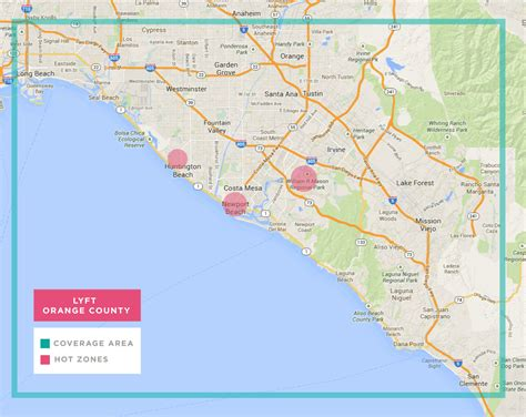 Lyft Expands Coverage Are In Orange County To Long Beach