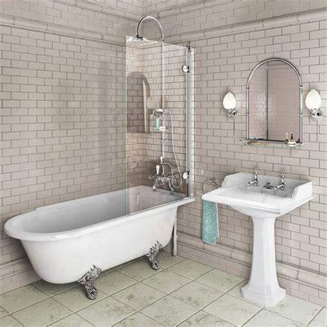 burlington traditional hton bath shower and basin suite