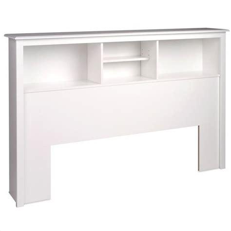 white queen bookcase headboard full queen bookcase headboard in white wsh 6643