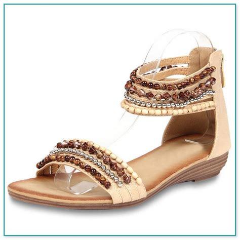 sandalen mit strass und perlen sandaletten mit perlen