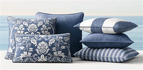 Restoration Hardware Decorative Pillows Round Side Tables For Living Room Modern Fireplace Open Shelving Traditional Ideas Table Window Treatments American Freight Sets