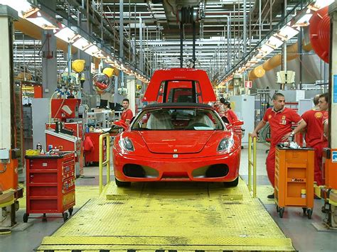 Inside Ferrari's Factory In Maranello, Italy