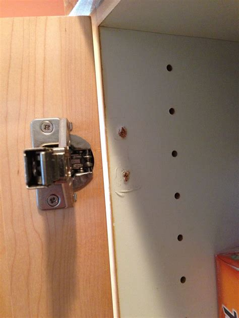 how to fix a cabinet door that fell off cabinet door hinge repair cabinet hinge repair bracket