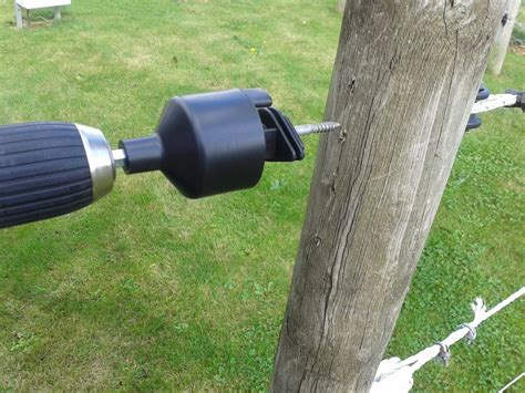 Where possible it is important to use electric fence. Rutland Electric Fencing Insulator Spinner
