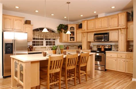 kitchen colors with maple cabinets home furniture design