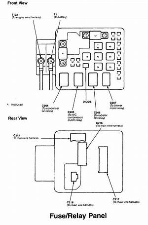 1996 Acura Integra Fuse Diagram 41156 Nostrotempo It