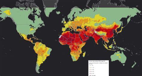 92 de la population mondiale expos 233 e 224 la pollution aux particules fines populationdata net