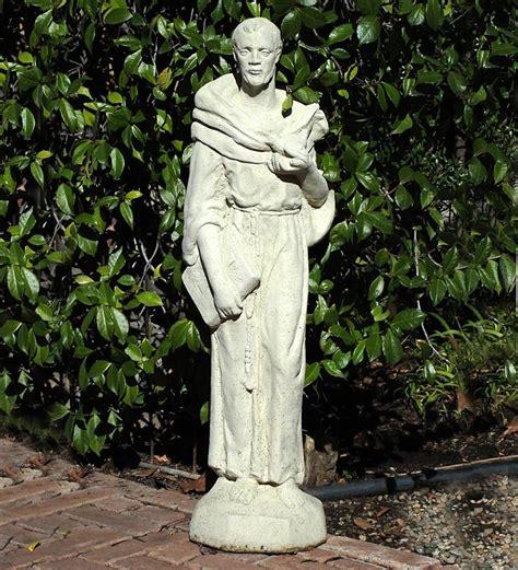 st francis garden statue vintage st francis garden plow hearth