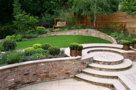 designer gardens family garden giving space and tranquillity in muswell hill with slate terrace