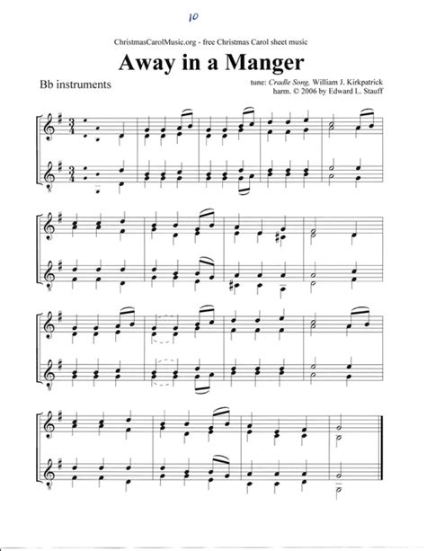 If you are looking for christmas sheet music easy links to christmas sheet music for virtually every instrument including satb caroling arrangements printable christmas carol sheet music and. 7 Best Images of Free Printable Christmas Carols Sheet Music - Free Printable Sheet Music ...