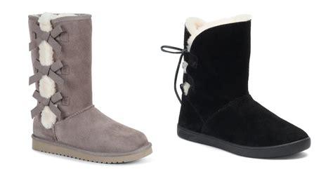 koolaburra  ugg boots  sale  kohls frugal finds