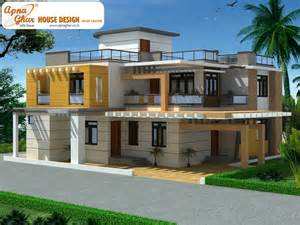 Beautiful Duplex House Plan by Duplex House Design Apnaghar House Design Page 2