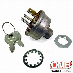 Ignition Switch Replaces Toro  Wheelhorse 103991 Kohler
