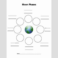 Moon Phases Worksheet By Jaime Somerssmith  Teachers Pay Teachers